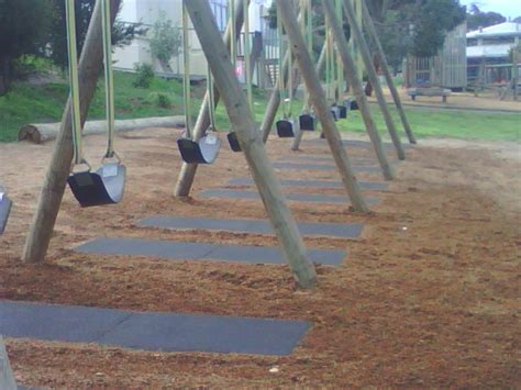 playground mats for under swings swing and slide mats gecko surfacing