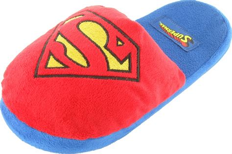 superman slippers for adults superman classic logo slippers