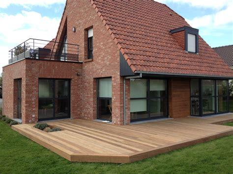Extension Terrasse Beton by Extension Maison En Bois Toit Terrasse Id 233 Es Pour La