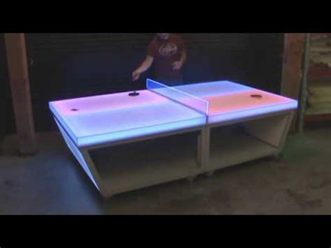 light up ping pong table light up ping pong table wr series