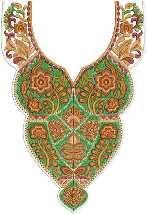 embroidery design for neck latest a z neck embroidery designs embdesigntube