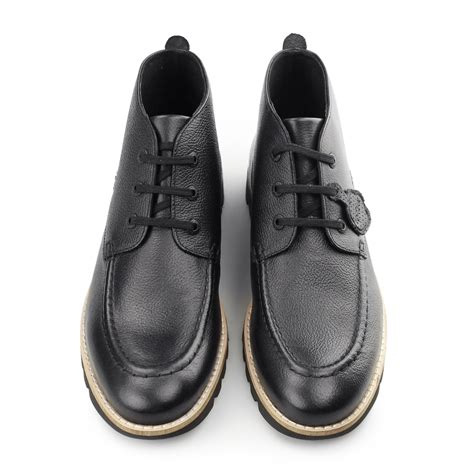 kickers classic casual kickers kymbo mocc mens leather lace up casual comfy