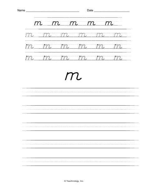 printable manuscript letters worksheet d nealian handwriting practice worksheets