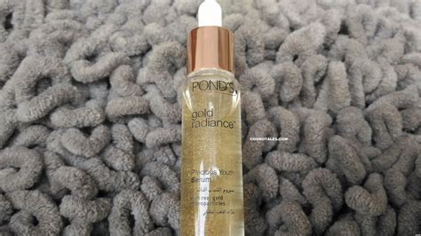 Serum Gold Radiance ponds gold radiance precious youth serum review
