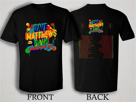 T Shirt Kaos Dmb Band Quote dave matthews band summer tour 2016 t shirt size s m l xl 2xl 3xl