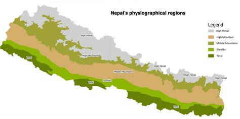 geography earthducation expedition 4 terai region nepal map