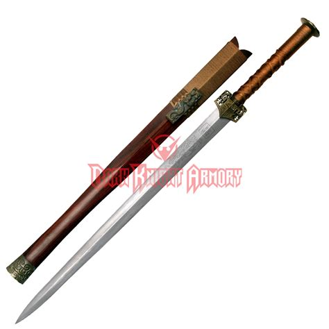 Western Home Decore by Battle Sword Of The Han Dynasty Mc Jk 093 From Dark