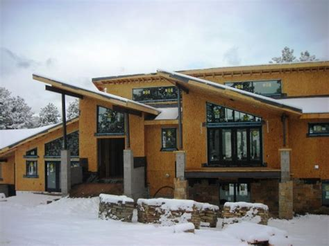 steel truss design for houses steel truss design for custom home evstudio architect engineer denver evergreen