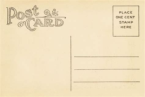 postcard size template word vintage postcard back template vintage postca design