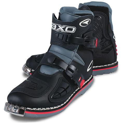 short moto boots axo slammer short enduro pit bike atv motocross motorcycle