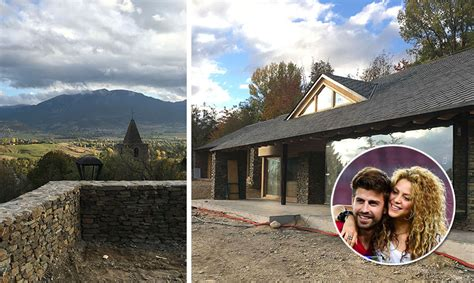 casa de shakira fotos situada en un pueblo con menos de 500 habitantes