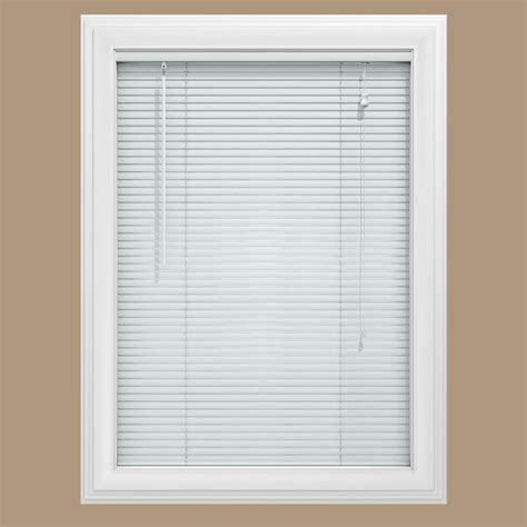 White Blinds Bali Cut To Size White 1 In Room Darkening Vinyl Mini