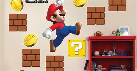 Super Mario Wall Sticker super mario wall stickers mario kids room designs