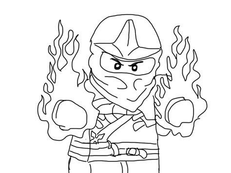 free printable coloring pages free printable ninjago coloring pages for 509430