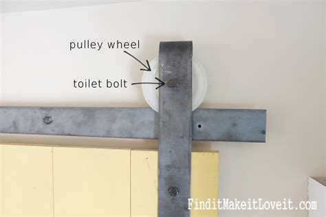 Make Your Own Barn Door Track Lovely Make Your Own Barn Door Hardware Diy Barn Door Track 1 Home Design