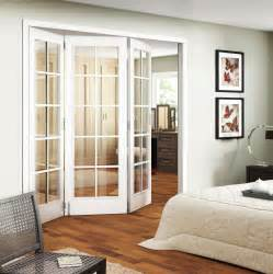 Trifold interior sliding french doors in bedroom homefurniture org