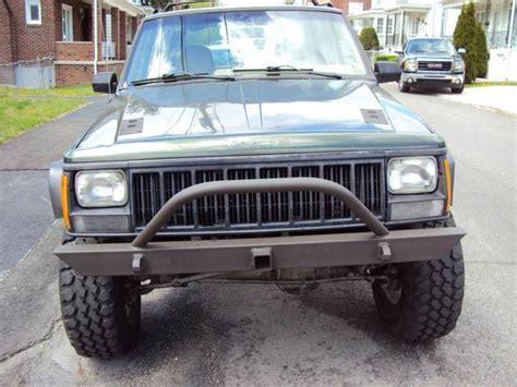 custom jeep bumper hornbuilt 1984 2001 front custom jeep xj bumper