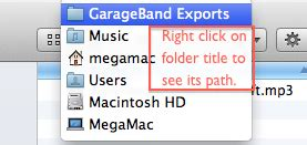 Garageband How To Export As Mp3 How To Export An Mp3 Out Of Garageband Digital Writing 101