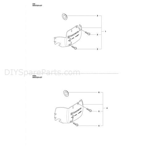 husqvarna 435 parts diagram husqvarna 435 chainsaw 2011 parts diagram winter kit