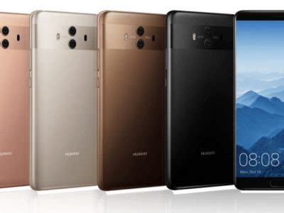 huawei mate 10 processor announced with kirin 970 and 5.9