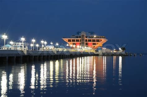 lighting stores st petersburg fl pier in st petersburg florida stock photo colourbox