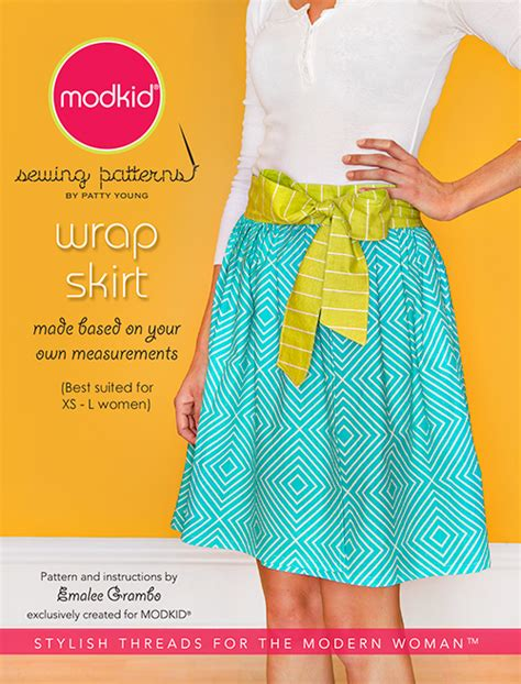 wrap skirt sewing pattern free patterns patty young sewing pattern wrap skirt