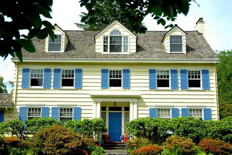 funky exterior color combinations