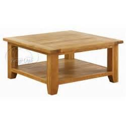 vxa015 vancouver oak square coffee table with shelf