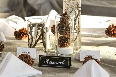 winter wedding table decorations warm winter wedding ideas lionsgate center