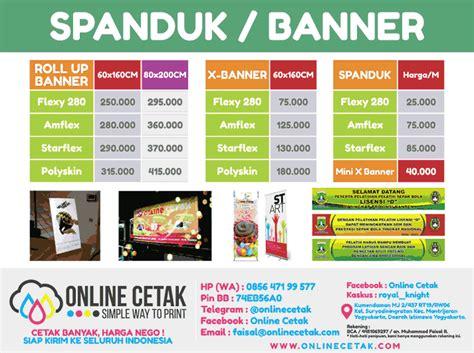 Cetak Spanduk Banner Murah 1 terjual cetak x banner roll banner spanduk backdrop outdoor kirim luar kota kaskus