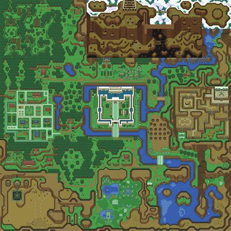 legend of zelda live map ゼルダの伝説 神々のトライフォース のフィールドマップをhtml5でライブマップとして再現 gigazine