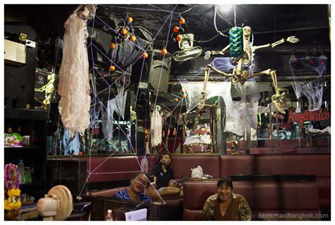 halloween themes for a bar halloween angelwitch stickman bangkok