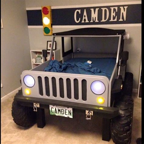 Jeep Bedroom Decor by Jeep Bed Plans Size Car Bed Car Bed Boys And Cars