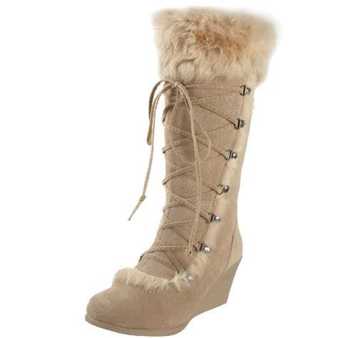 bearpaw boots fur bearpaw s kaska fur boot sand 7 m us