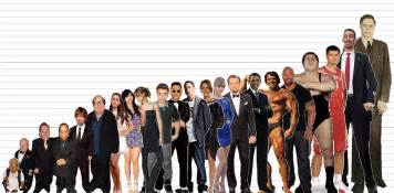 Gallery Height by Gallery For Gt Human Height Comparison Visual