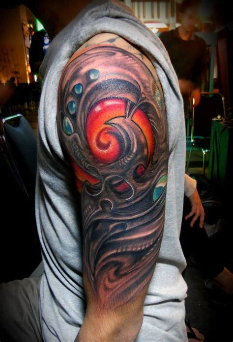 biomechanical tattoos for men biomechanical sleeve ideas and biomechanical sleeve