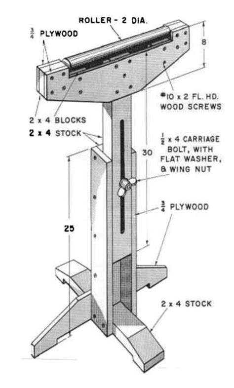 roller stand woodworking woodworking projects diy