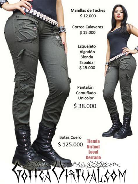 imagenes de mujeres rockeras y metaleras botas rockeras para mujer bogota