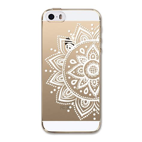 Anima Pattern For Iphone 66s soft cover for iphone 5 5s free shhipping hollow beautiful flowers animals pattern