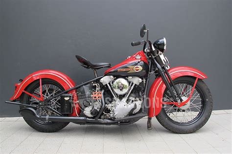 Knucklehead Harley Davidson by Harley Davidson El Knucklehead Motorcycle Auctions Lot S