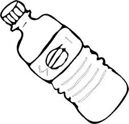 Bottle Of Water Colouring Pages sketch template
