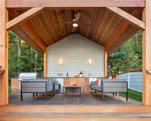 covered deck attractive poolhouse with covered cedar deck outdoor
