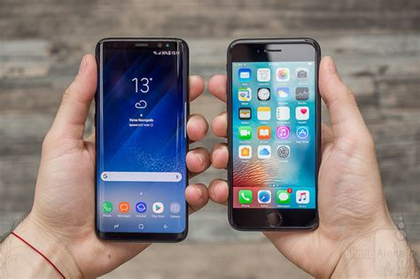 Samsung A8 Vs Iphone 5s samsung galaxy s8 vs apple iphone 7