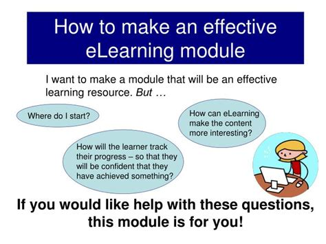 How To Create An Effective Ppt How To Make An Effective Elearning Module Powerpoint