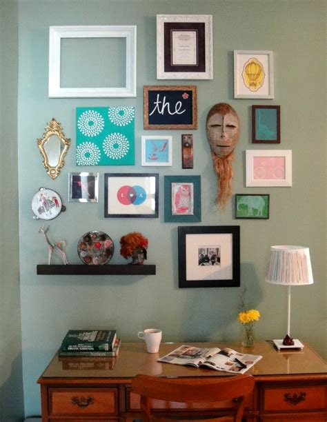 wall art collage framed art gallery wall so pretty is as pretty does