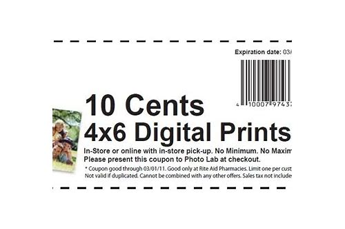 rite aid photo cards coupons
