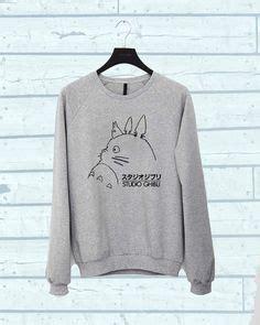 Sweater Totoro Logo size sale autumn 3d sweatshirt print totoro hoodies sweatshirts animal winter