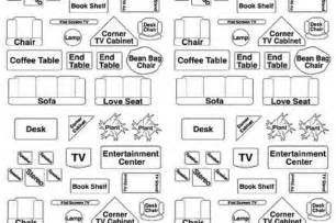 furniture templates for floor plans free furniture templates for floor plans 9 best images of free printable furniture templates for