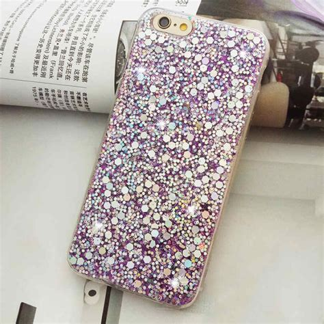 Fashion Water Gliter For Apple Iphone 6 Plus fashion bling glitter soft silicone phone cover for iphone 6s 7 7 plus