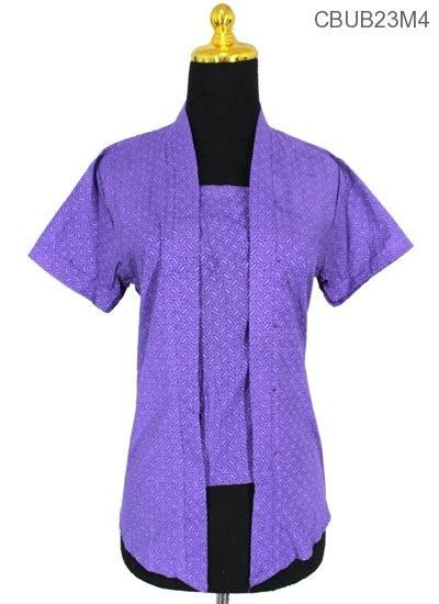 Blouseblus Batik Kutubaru Embos Pendek Blus Kebaya Kutubaru Pendek Motif Winih Blus Pendek